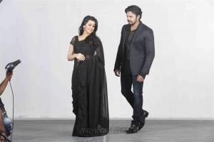 Nikki Galrani, Sreesanth in Team 5 Movie Stills