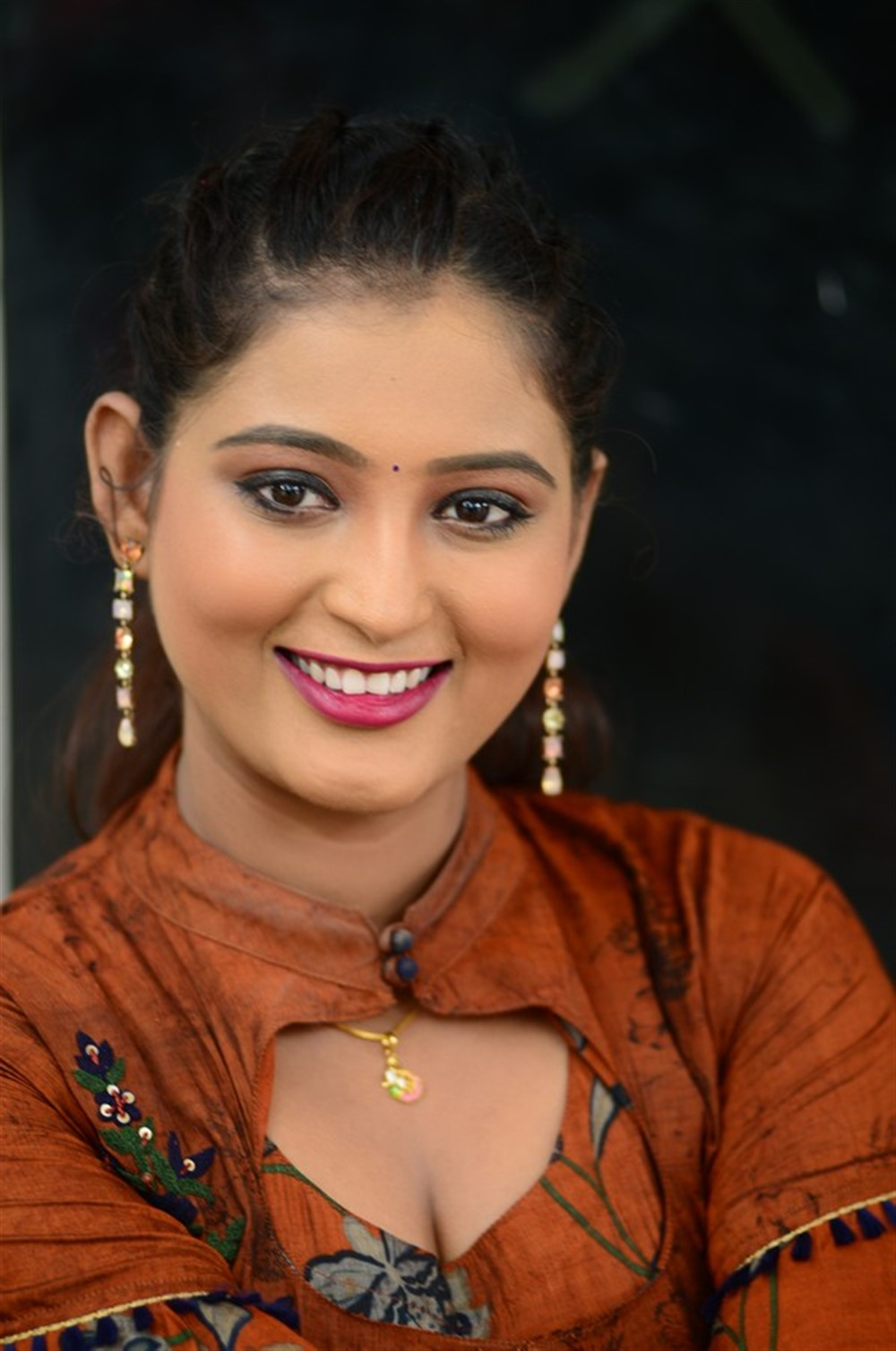 Actress Teja Reddy New Stills @ Beach Road Chetan Teaser Launch