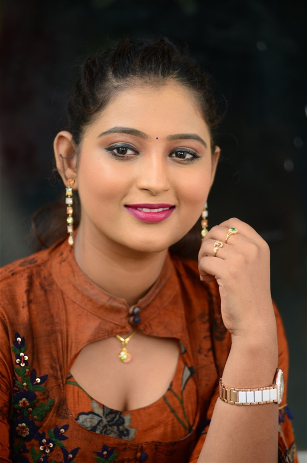 Actress Teja Reddy @ Beach Road Chetan Teaser Launch Stills