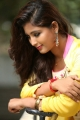Telugu Actress Teja Reddy in Yellow Dress Cute Photos