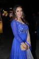 Actress Tejaswi Madivada Blue Churidar Photos