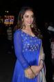 Actress Tejaswi Madivada Blue Embroidered Salwar Photos