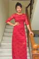Actress Tejaswi Madivada Images in Red Dress