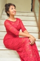 Kerintha Movie Actress Tejaswi Madivada in Red Dress Images