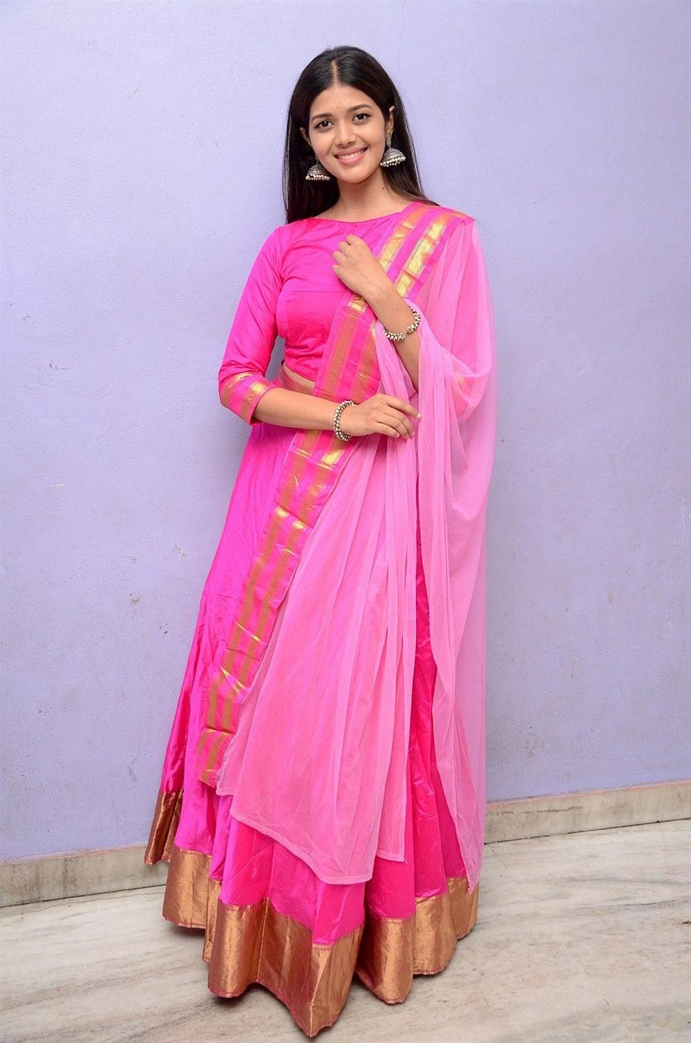 Actress Tejaswini Manogna Photos @ God Of Gods Audio Launch