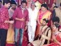 Sai Korrapati @ Boyapati Srinu Brother Daughter Tejaswini Midhun Sarath Wedding Reception Stills