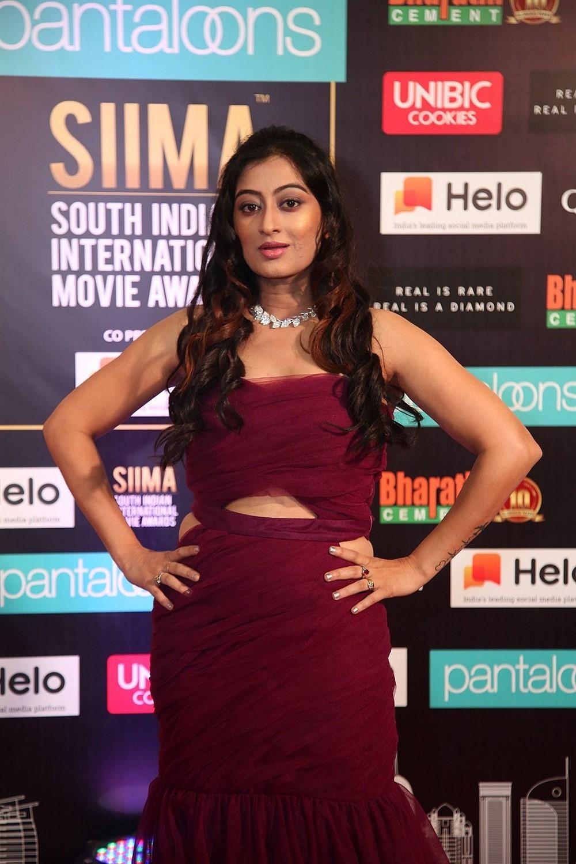 Actress Tejaswini Prakash Photos @ SIIMA Awards 2019 Day 2