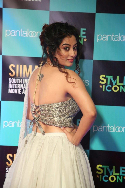 Actress Tejaswini Prakash Photos @ SIIMA Awards 2019