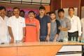 Telangana Cinema Cricket Press Meet Stills