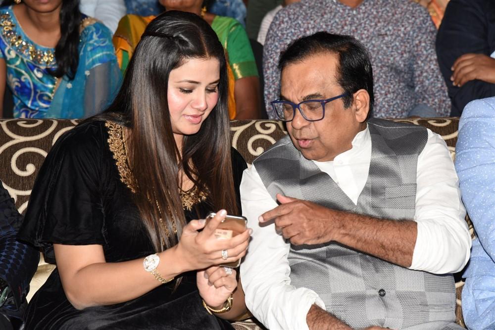 Sangeetha, Brahmanandam @ Telangana Devudu Audio Launch Stills