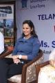 Sania Mirza at Telangana Tourism Catamaran Luxury Yacht Launch