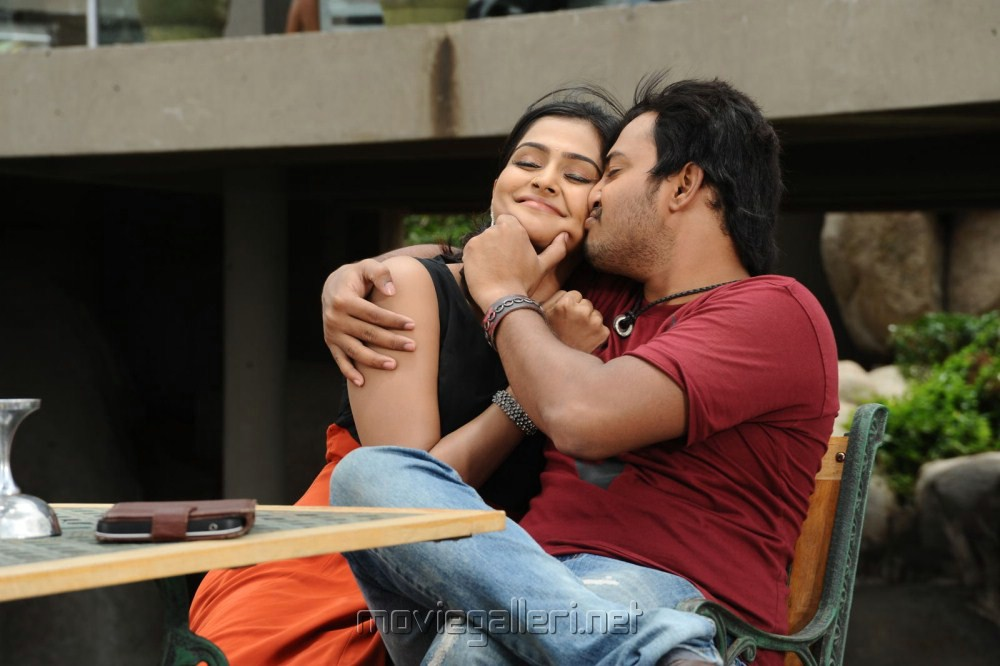 Tanish, Ramya Nambeesan in Telugu Abbai Movie Photos