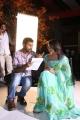 Director Avinash, Tashu Kaushik at Telugu Abbai Movie Working Stills