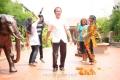 Telugu Abbai Movie Shooting Spot Stills