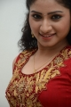 Telugu Actress Vishnupriya Stills in Red Dress