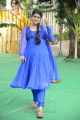 Telugu TV Serial Artist Bhavana Photos in Blue Salwar Kameez
