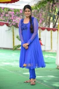 Telugu Artist Bhavana Photos in Blue Salwar Kameez