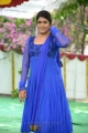 Telugu TV Artist Bhavana Photos in Blue Salwar Kameez