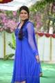 Telugu TV Serial Artist Bhavana Photos in Blue Churidar