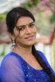 Telugu Serial Actress Bhavana Photos in Blue Salwar Kameez