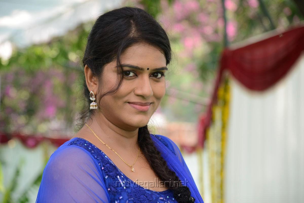 Telugu Actress Jyothi In Blue Salwar