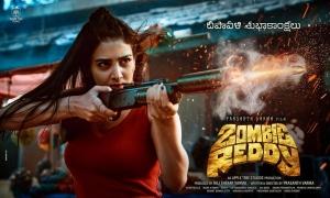 Zombie Reddy Movie Diwali Wishes Posters