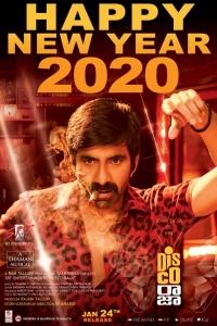 Disco Raja Movie New Year 2020 Wishes Poster