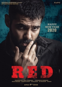 RED Movie New Year 2020 Wishes Poster