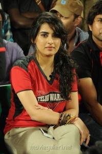 Archana Veda @ Telugu Warriors vs Karnataka Bulldozers Match