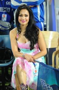 Madhuri Bhattacharya @ Telugu Warriors vs Karnataka Bulldozers Match