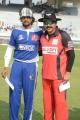 Sudeep, Venkatesh at CCL 3 Telugu Warriors Vs Karnataka Bulldozers Match Photos