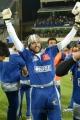 Actor Sudeep at CCL 3 Telugu Warriors Vs Karnataka Bulldozers Match Photos