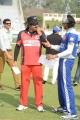Venkatesh, Sudeep at CCL 3 Telugu Warriors Vs Karnataka Bulldozers Match Photos