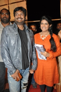 Puri Jagannath, wife Lavanya @ Temper Movie Audio Launch Function Stills