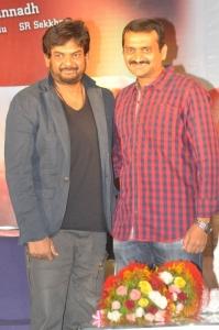 Puri Jagannadh, Bandla Ganesh @ Temper Movie Success Meet Stills