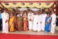 RM Veerappan @ TG Thyagarajan son Sendhil Dhasha Wedding Photos