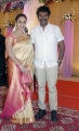 Preetha Hari @ TG Thyagarajan son Senthil Dhasha Wedding Reception Stills
