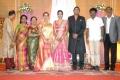 Preetha, Hari @ TG Thyagarajan son Senthil Dhasha Wedding Reception Stills