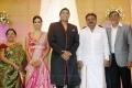 Vijayakanth @ TG Thyagarajan son Senthil Dhasha Wedding Reception Stills