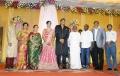 Ilayaraja, Karthik Raja @ TG Thyagarajan son Senthil Dhasha Wedding Reception Stills