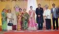 Manika Vinayagam @ TG Thyagarajan son Senthil Dhasha Wedding Reception Stills