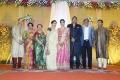 Unni Krishnan @ TG Thyagarajan son Senthil Dhasha Wedding Reception Stills