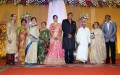 Thamizhachi Thangapandian, MS Viswanathan @ TG Thyagarajan son Senthil Dhasha Wedding Reception Stills