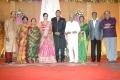 K.Balachander, Pushpa Kandaswamy @ TG Thyagarajan son Senthil Dhasha Wedding Reception Stills