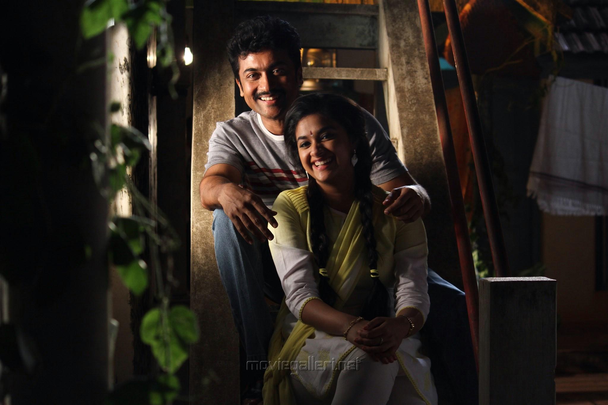 Suriya, Keerthi Suresh in Thaana Serndha Koottam Movie HD Photos