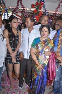 Jayachitra, P.Vasu at Thaaru Maaru Movie Launch Photos