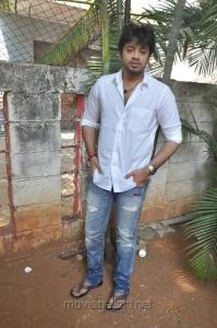 Actor Amresh Ganesh at Thaaru Maaru Movie Launch Photos