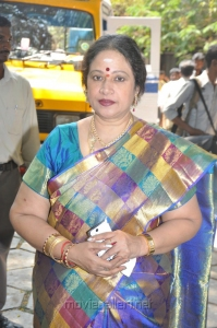 Jayachitra at Thaaru Maaru Movie Launch Photos