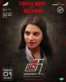 Tanya Hope as Deepika in Thadam Movie Release Posters