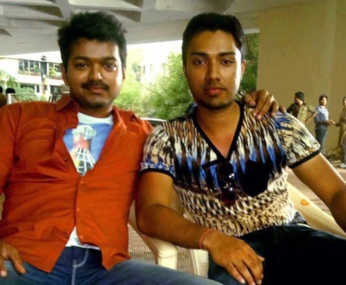Actor Vijay at Thalaiva Movie On Location Stills